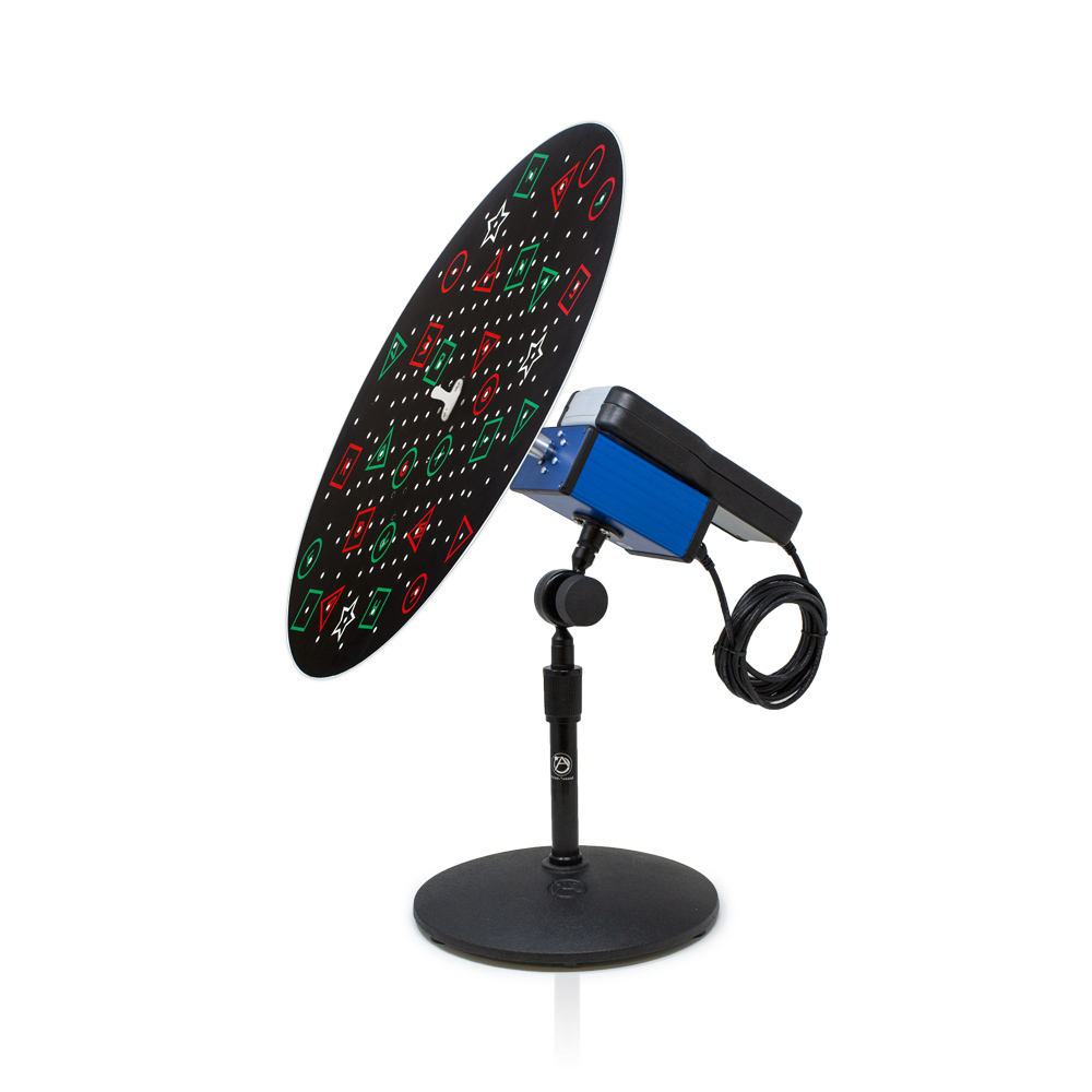 VTP Edition Table Rotation Trainer with Anti-Suppression Black Background Pegboard Disc