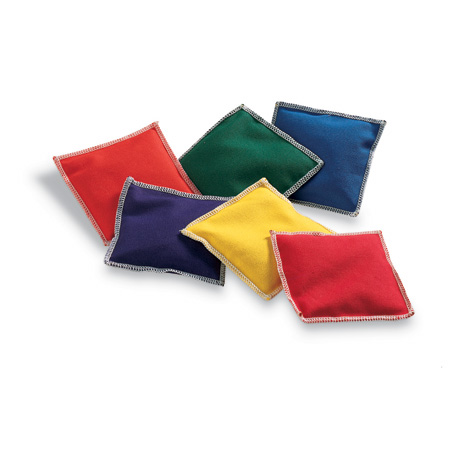 Rainbow Colored Bean Bags