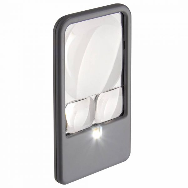 Multi-Power LED Lighted Pocket Magnifier