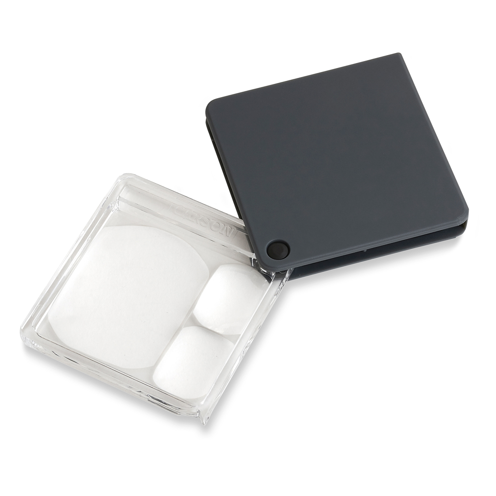 Multi-Power Flip-Open Pocket Magnifier