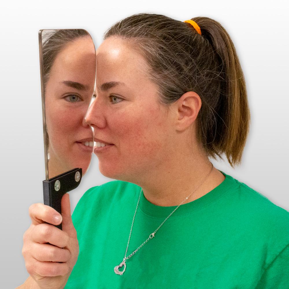 Free Space Septum Training Mirror