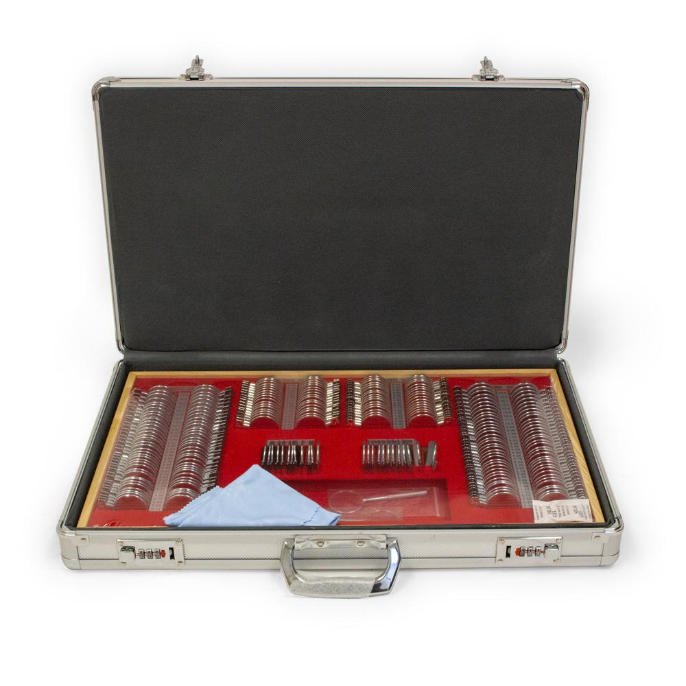 232 Piece Trial Lens Set with Aluminum Case