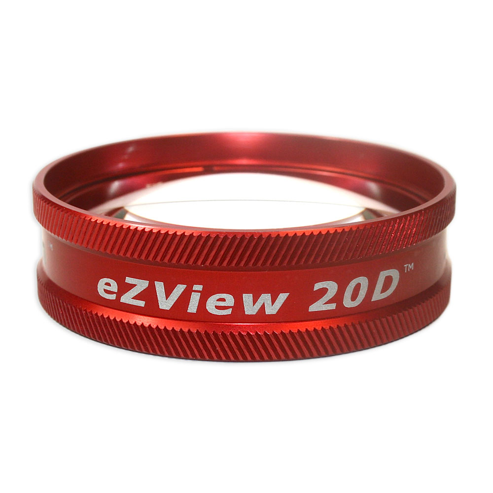 Ion eZView 20D Bio Lenses - Ion eZView 20D Bio Lens - Red