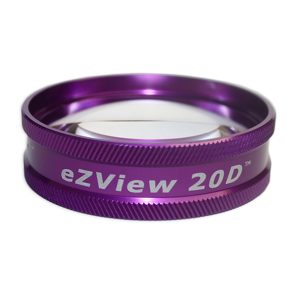 Ion eZView 20D Bio Lenses - Ion eZView 20D Bio Lens - Purple