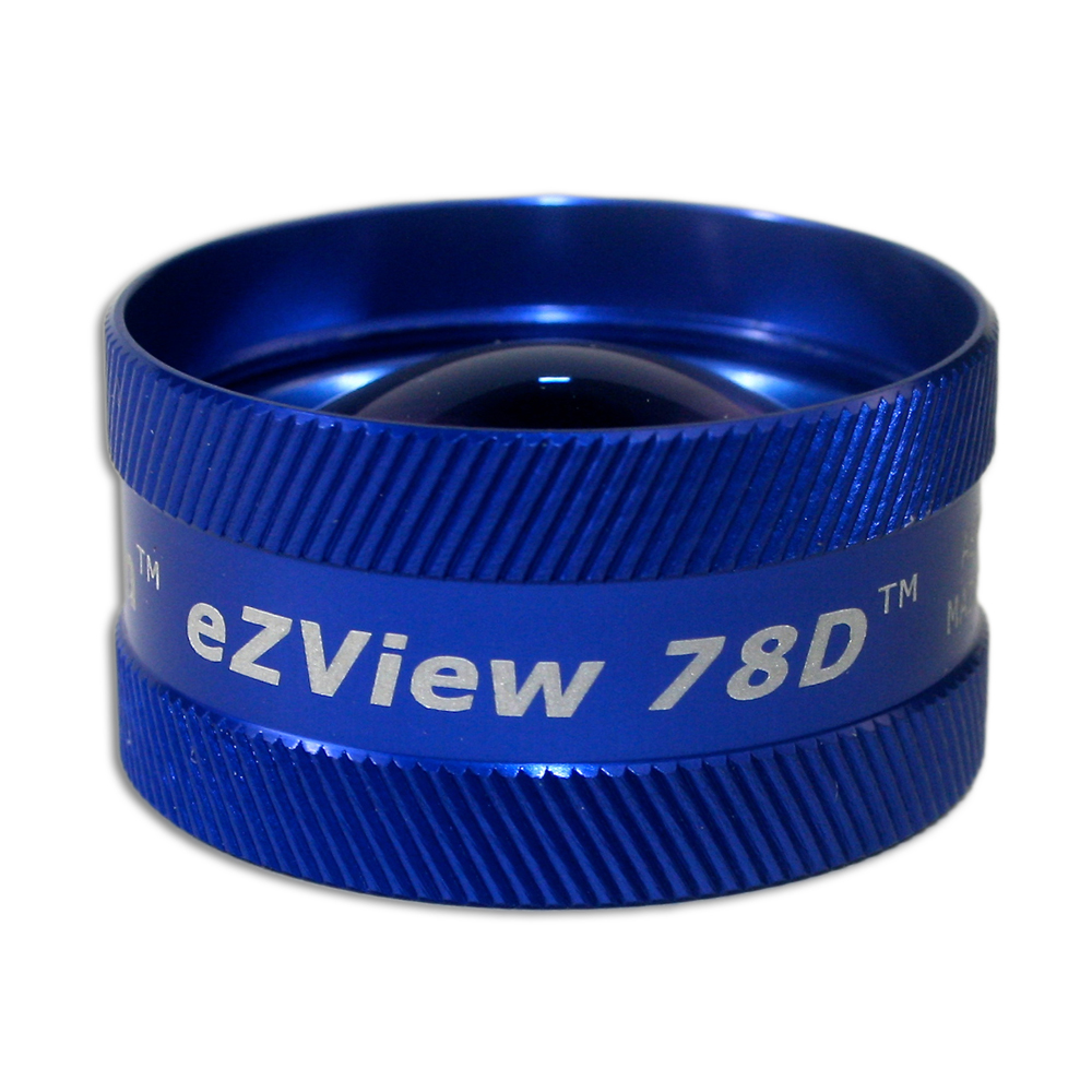 Ion eZView 78D Non-Contact Slit Lamp Lenses - Ion eZView 78D Non-Contact Slit Lamp Lens - Blue