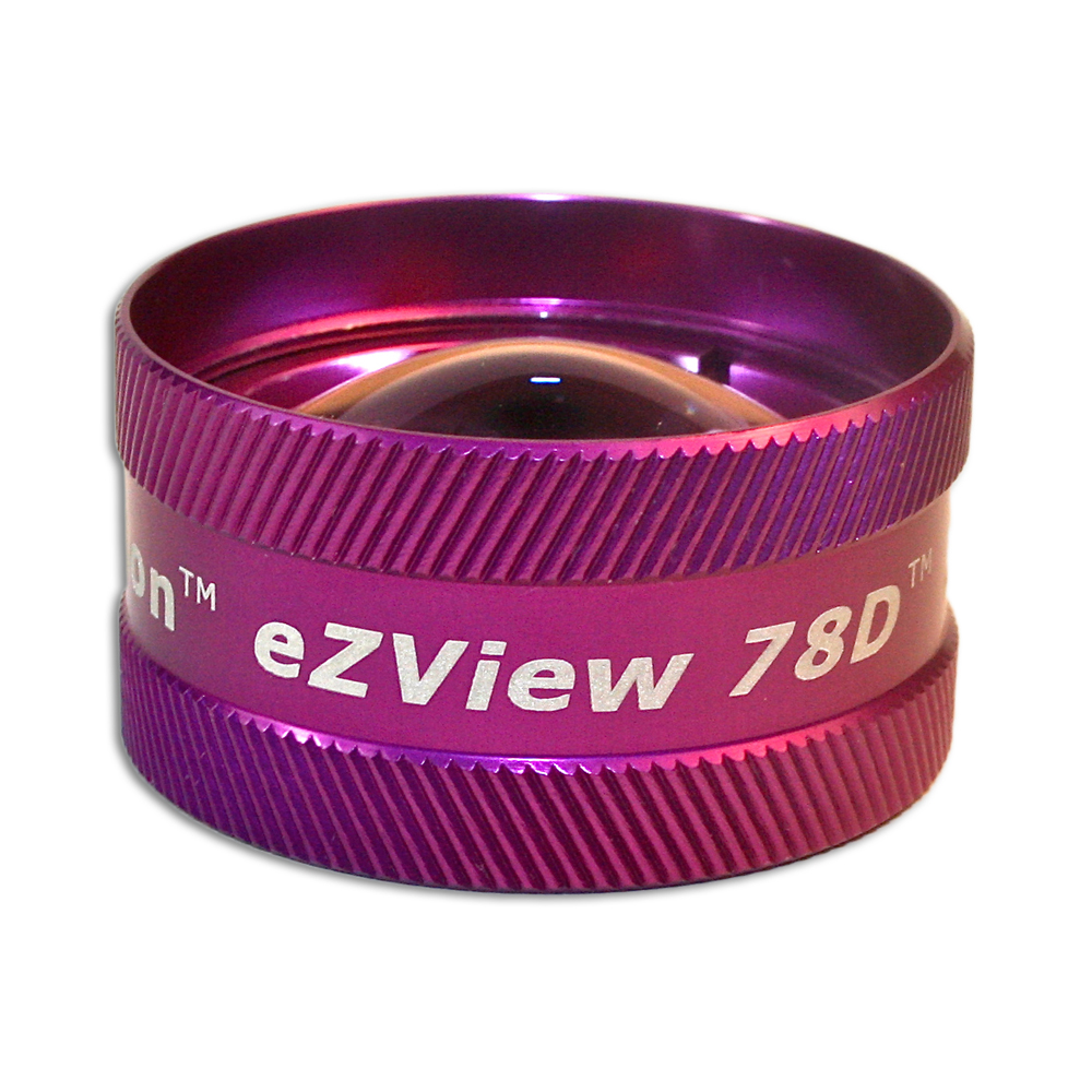 Ion eZView 78D Non-Contact Slit Lamp Lenses - Ion eZView 78D Non-Contact Slit Lamp Lens - Purple