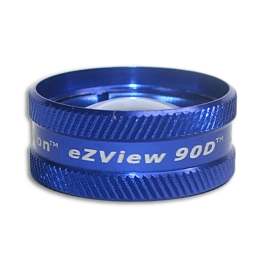 Ion eZView 90D Non-Contact Slit Lamp Lenses - Ion eZView 90D Non-Contact Slit Lamp Lens - Blue