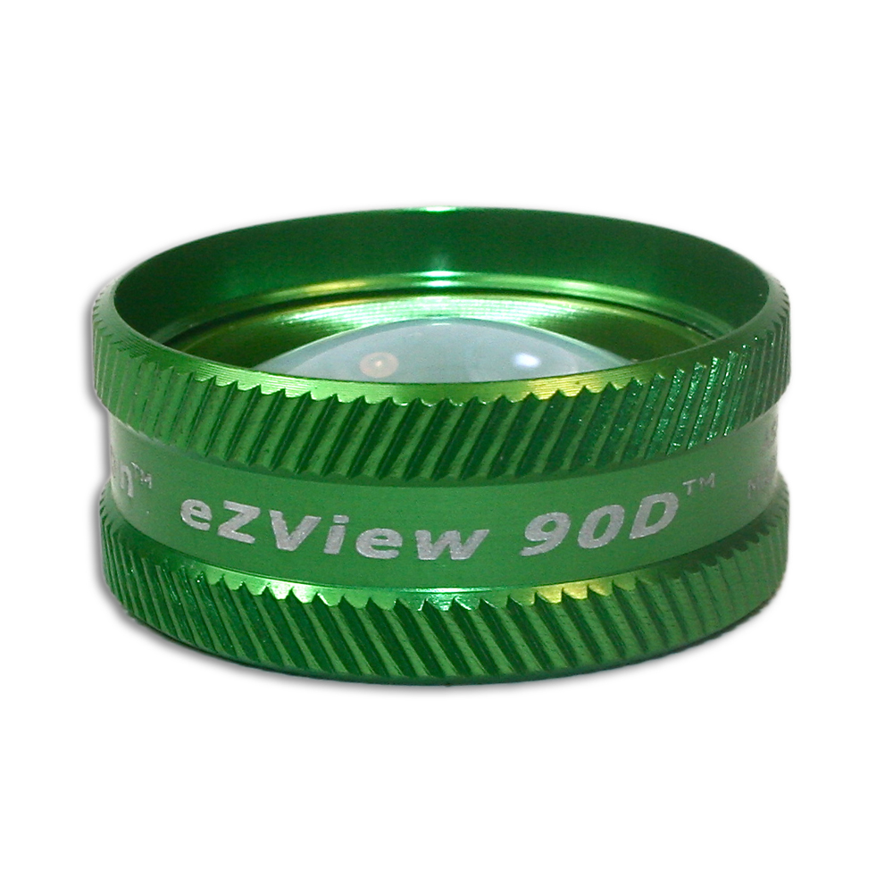 Ion eZView 90D Non-Contact Slit Lamp Lenses - Ion eZView 90D Non-Contact Slit Lamp Lens - Green