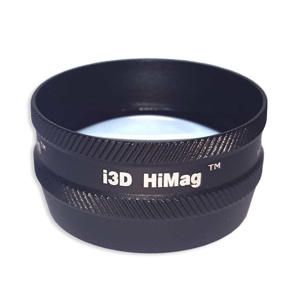 Ion i3D High Mag - Non-Contact Slit Lamp Lenses - Ion i3D High Mag - Non-Contact Slit Lamp Lens - Black