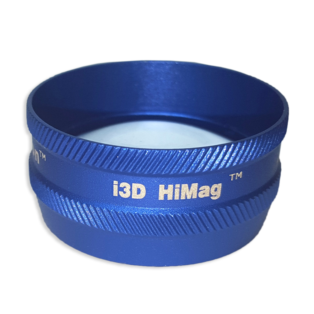Ion i3D High Mag - Non-Contact Slit Lamp Lenses - Ion i3D High Mag - Non-Contact Slit Lamp Lens - Blue