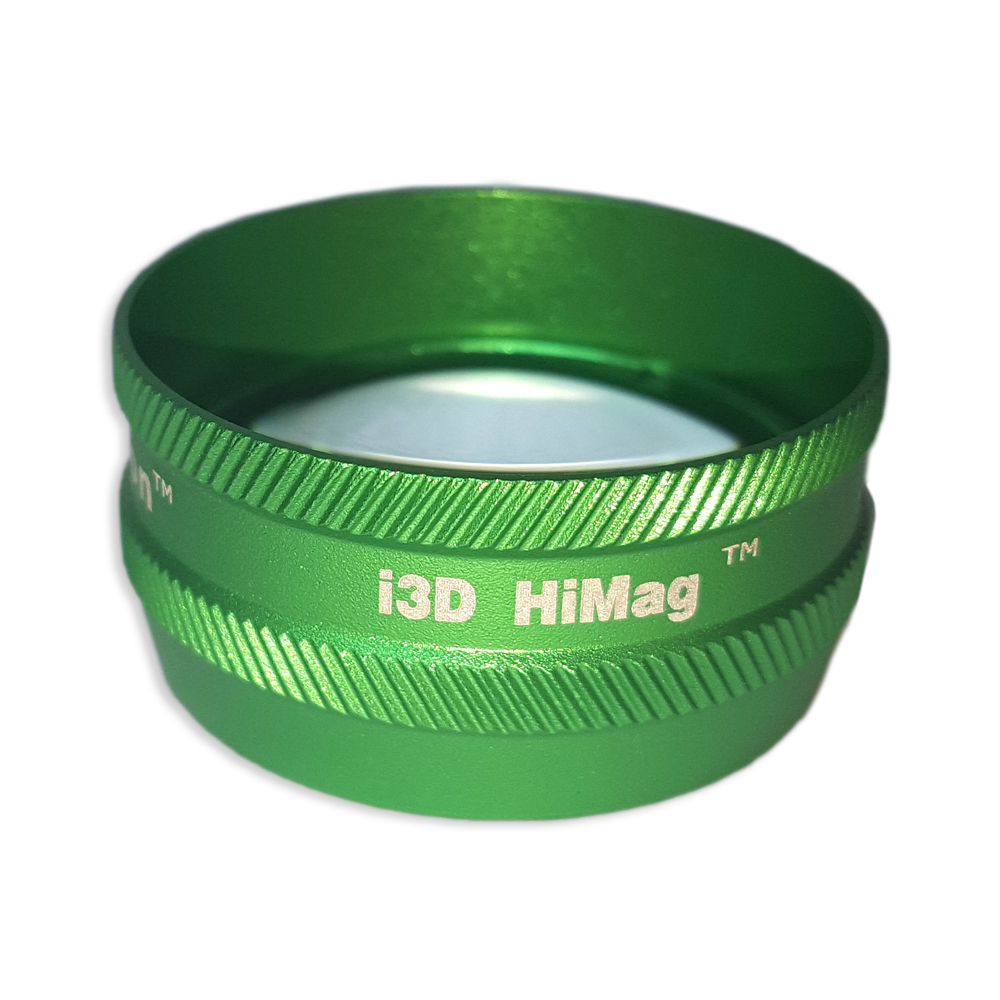 Ion i3D High Mag - Non-Contact Slit Lamp Lenses - Ion i3D High Mag - Non-Contact Slit Lamp Lens - Green