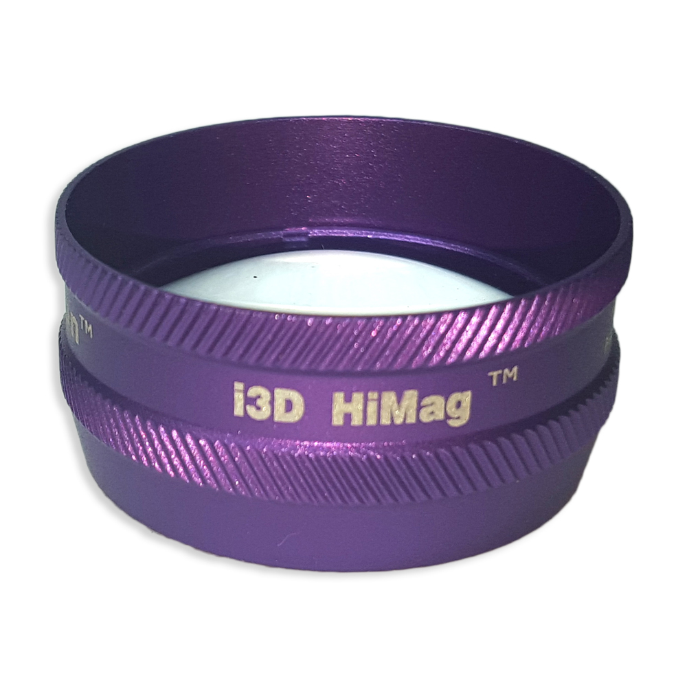 Ion i3D High Mag - Non-Contact Slit Lamp Lenses - Ion i3D High Mag - Non-Contact Slit Lamp Lens - Purple
