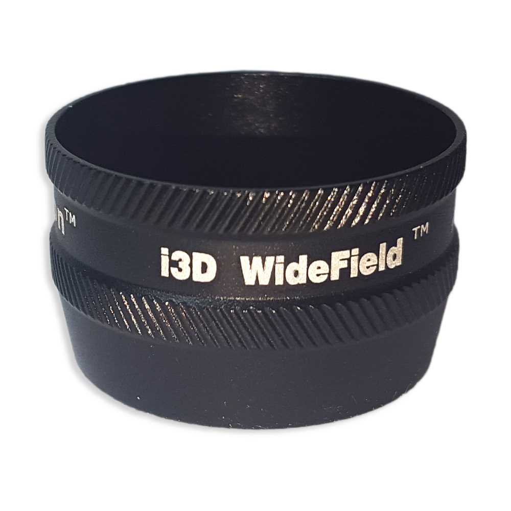 Ion i3D WideField - Non-Contact Slit Lamp Lenses - Ion i3D WideField - Non-Contact Slit Lamp Lens - Black