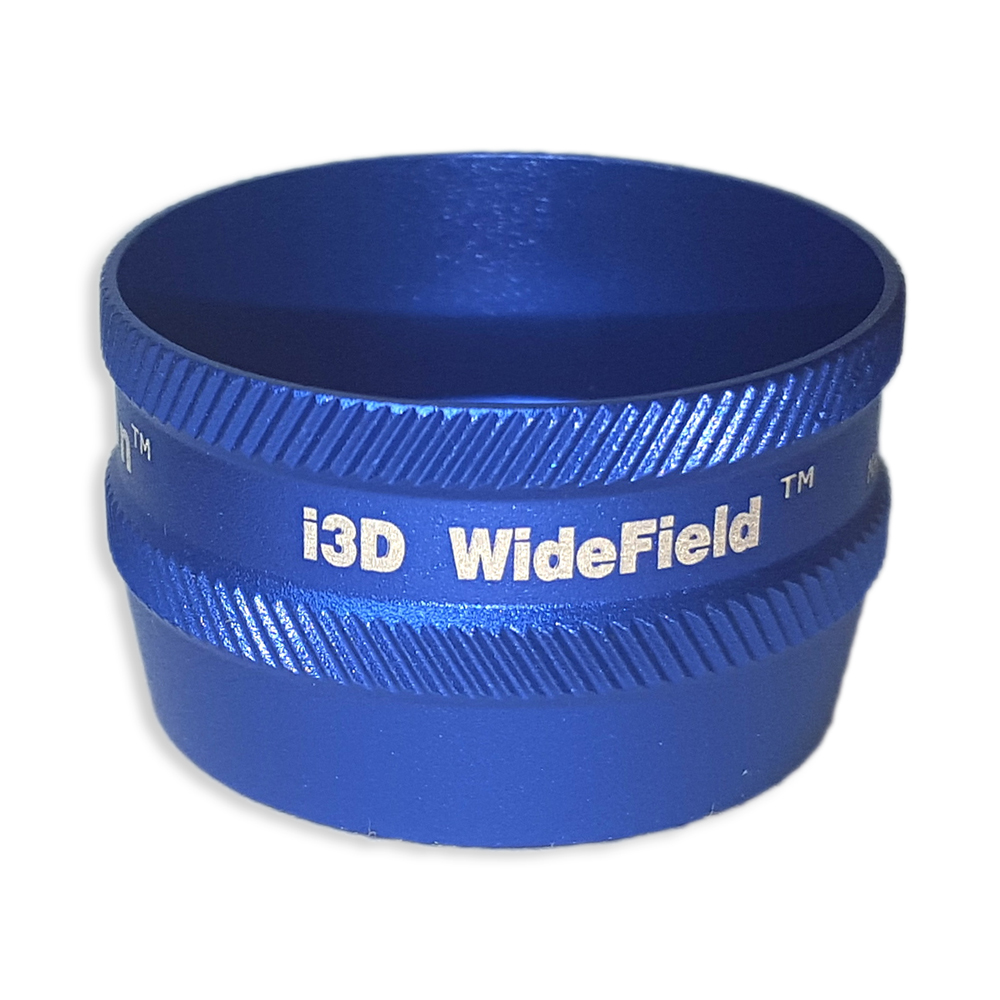 Ion i3D WideField - Non-Contact Slit Lamp Lenses - Ion i3D WideField - Non-Contact Slit Lamp Lens - Blue