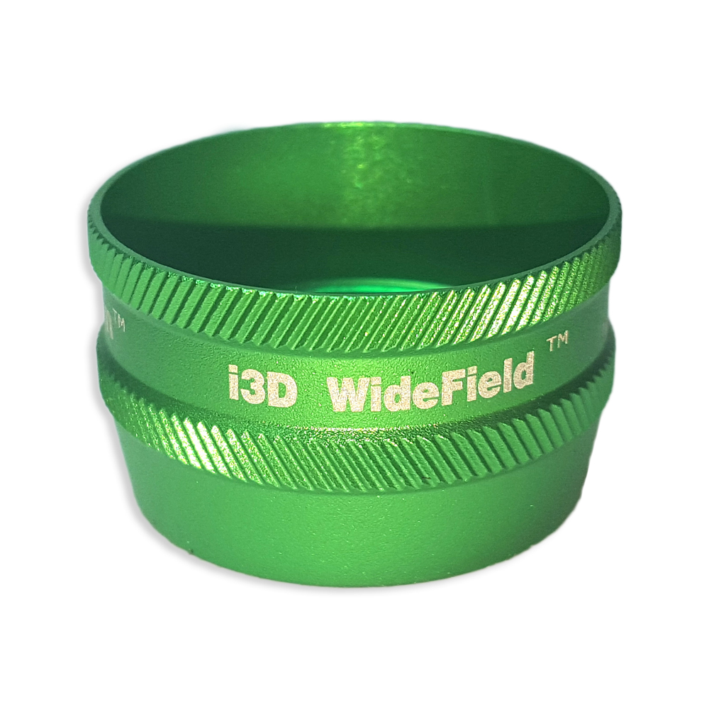 Ion i3D WideField - Non-Contact Slit Lamp Lenses - Ion i3D WideField - Non-Contact Slit Lamp Lens - Green