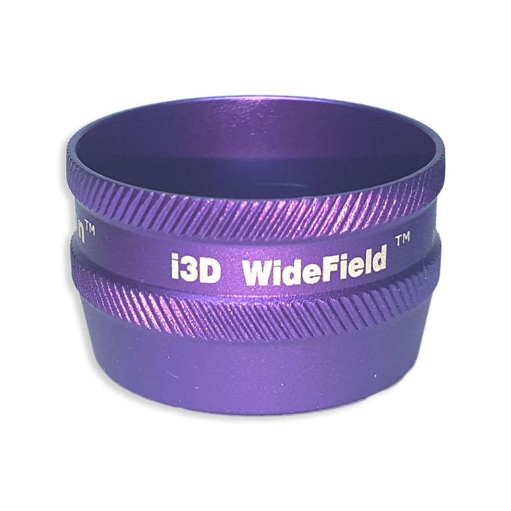Ion i3D WideField - Non-Contact Slit Lamp Lenses - Ion i3D WideField - Non-Contact Slit Lamp Lens - Purple