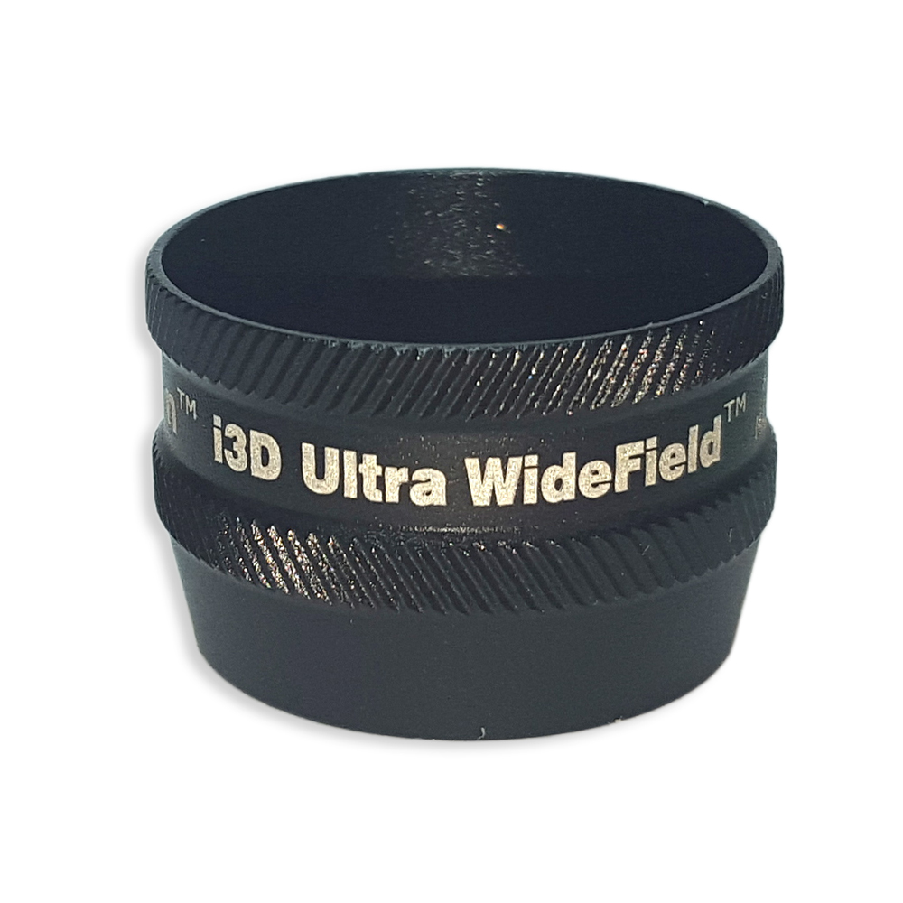 Ion i3D Ultra WideField - Non-Contact Slit Lamp Lenses - Ion i3D Ultra WideField - Non-Contact Slit Lamp Lens - Black