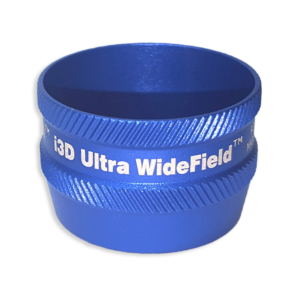 Ion i3D Ultra WideField - Non-Contact Slit Lamp Lenses - Ion i3D Ultra WideField - Non-Contact Slit Lamp Lens - Blue
