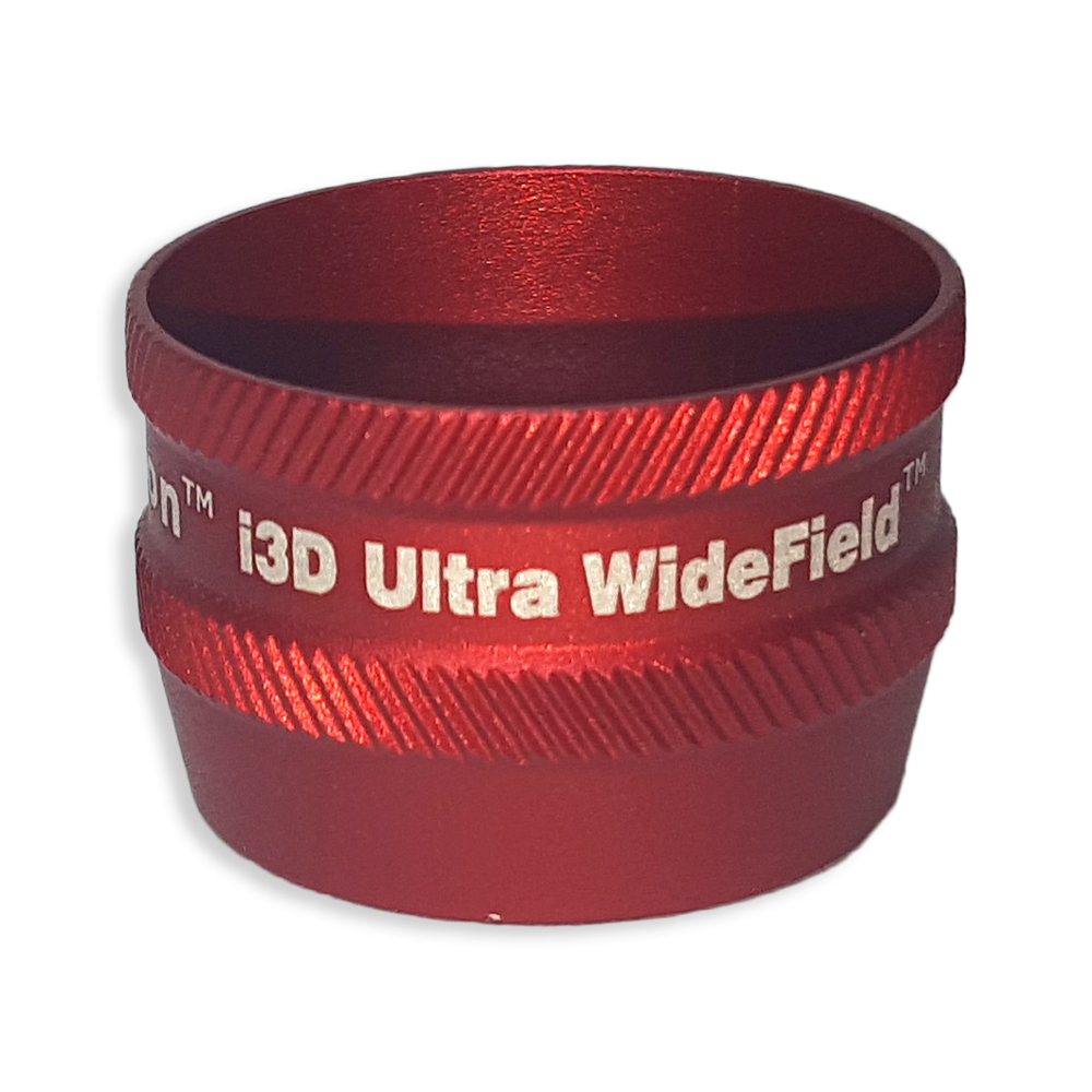 Ion i3D Ultra WideField - Non-Contact Slit Lamp Lenses - Ion i3D Ultra WideField - Non-Contact Slit Lamp Lens - Red