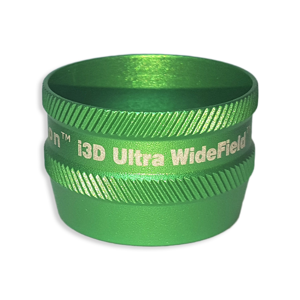 Ion i3D Ultra WideField - Non-Contact Slit Lamp Lenses - Ion i3D Ultra WideField - Non-Contact Slit Lamp Lens - Green