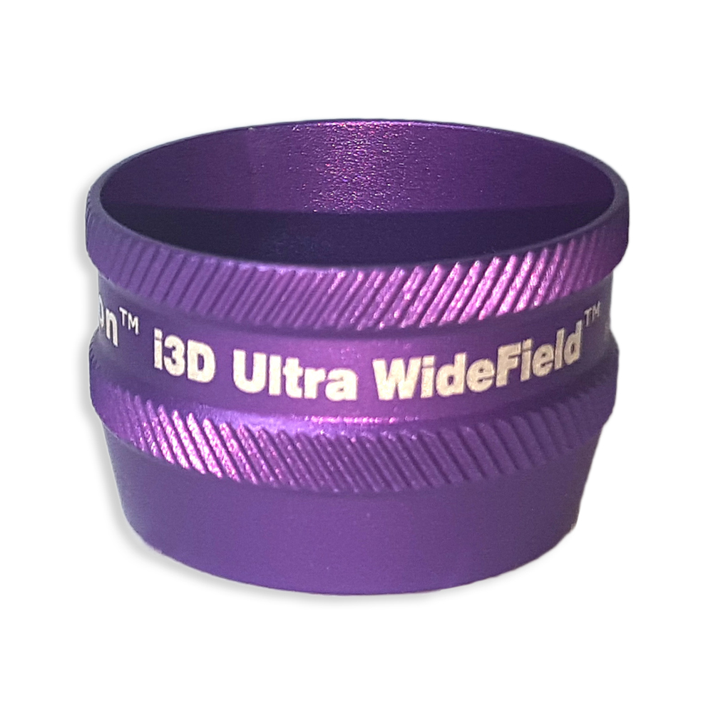 Ion i3D Ultra WideField - Non-Contact Slit Lamp Lenses - Ion i3D Ultra WideField - Non-Contact Slit Lamp Lens - Purple