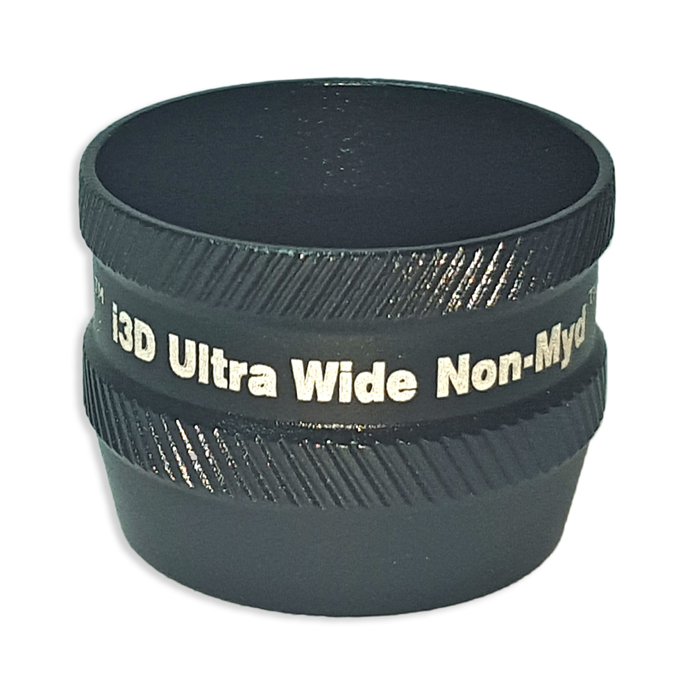 Ion i3D Ultra WideField Non-Myd - Non-Contact Slit Lamp Lenses - Ion i3D Ultra WideField Non-Myd - Non-Contact Slit Lamp Lens - Black