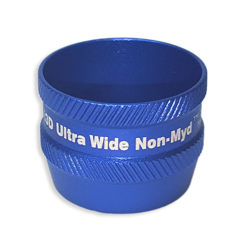Ion i3D Ultra WideField Non-Myd - Non-Contact Slit Lamp Lenses - Ion i3D Ultra WideField Non-Myd - Non-Contact Slit Lamp Lens - Blue