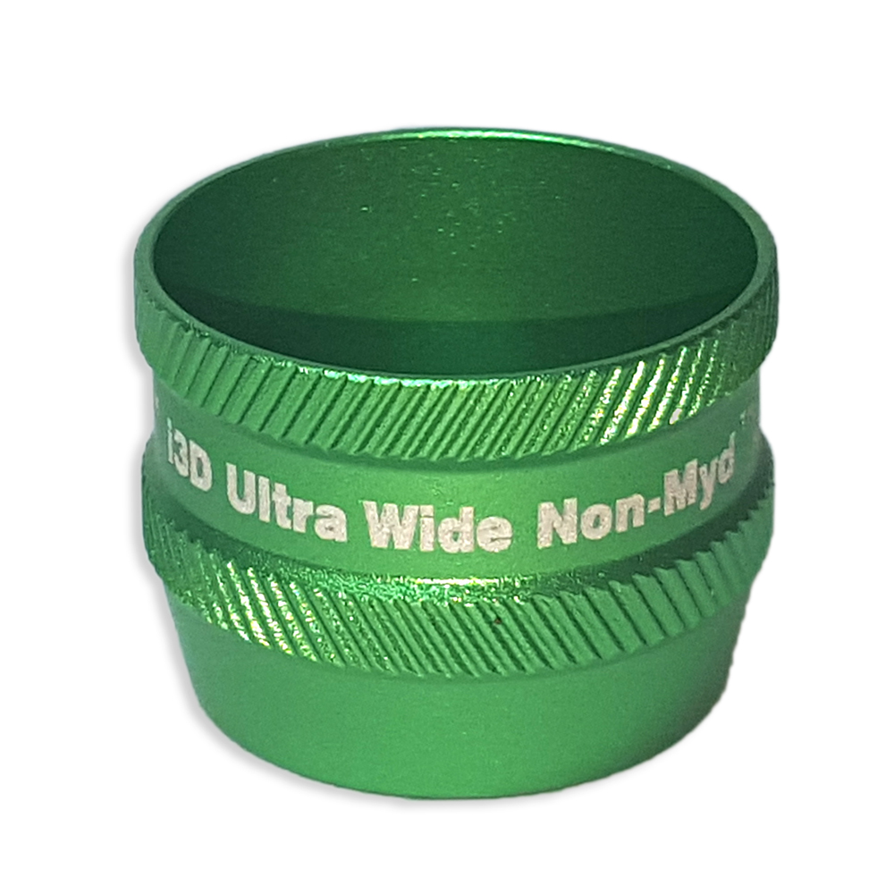 Ion i3D Ultra WideField Non-Myd - Non-Contact Slit Lamp Lens - Green