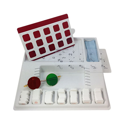 Monocular Fixation in Binocular Field (MFBF) Matching Game