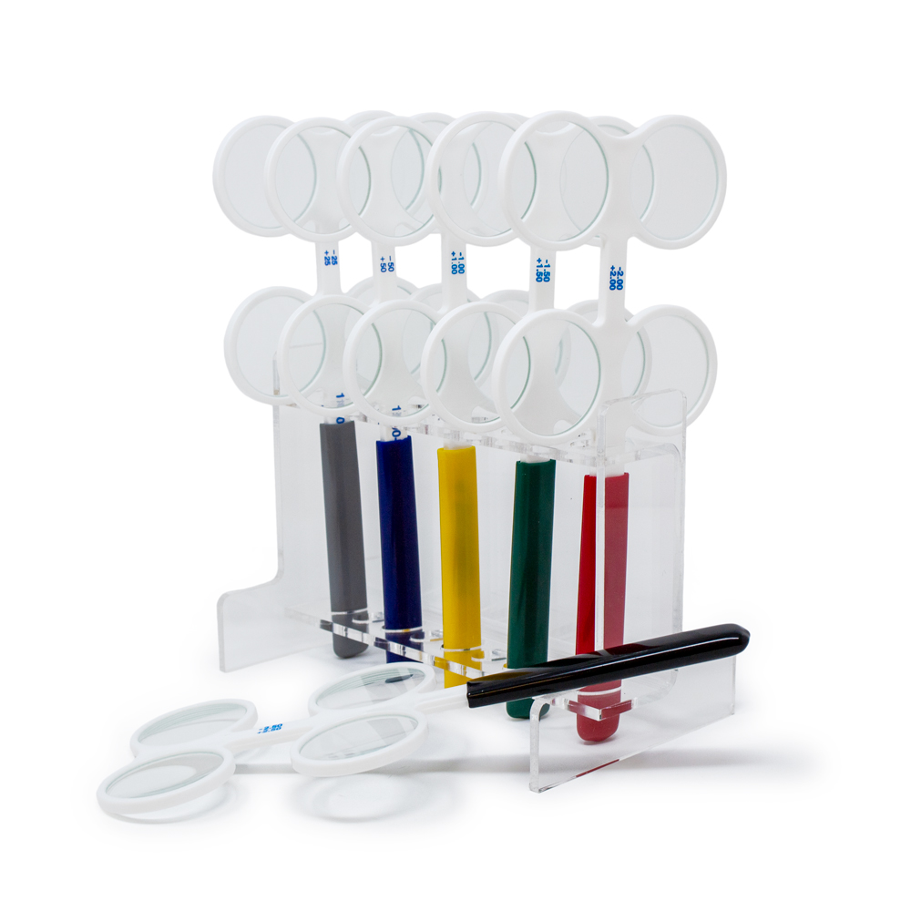 Flippers (6 Piece Set) with Acrylic Holder