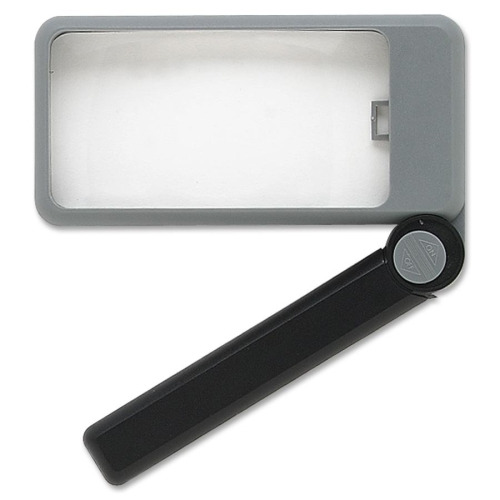 "Folding Lighted 2""x 4"" Magnifier"