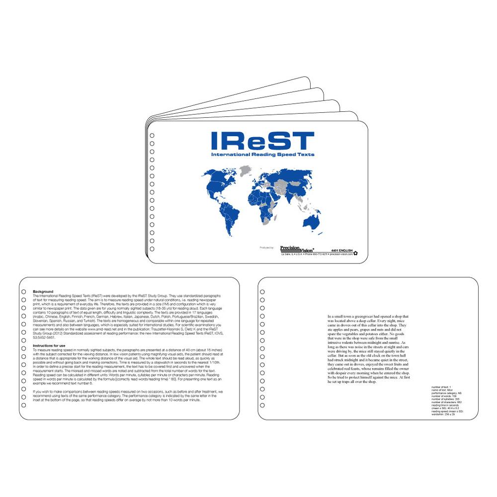 IReST Reading Speed Test
