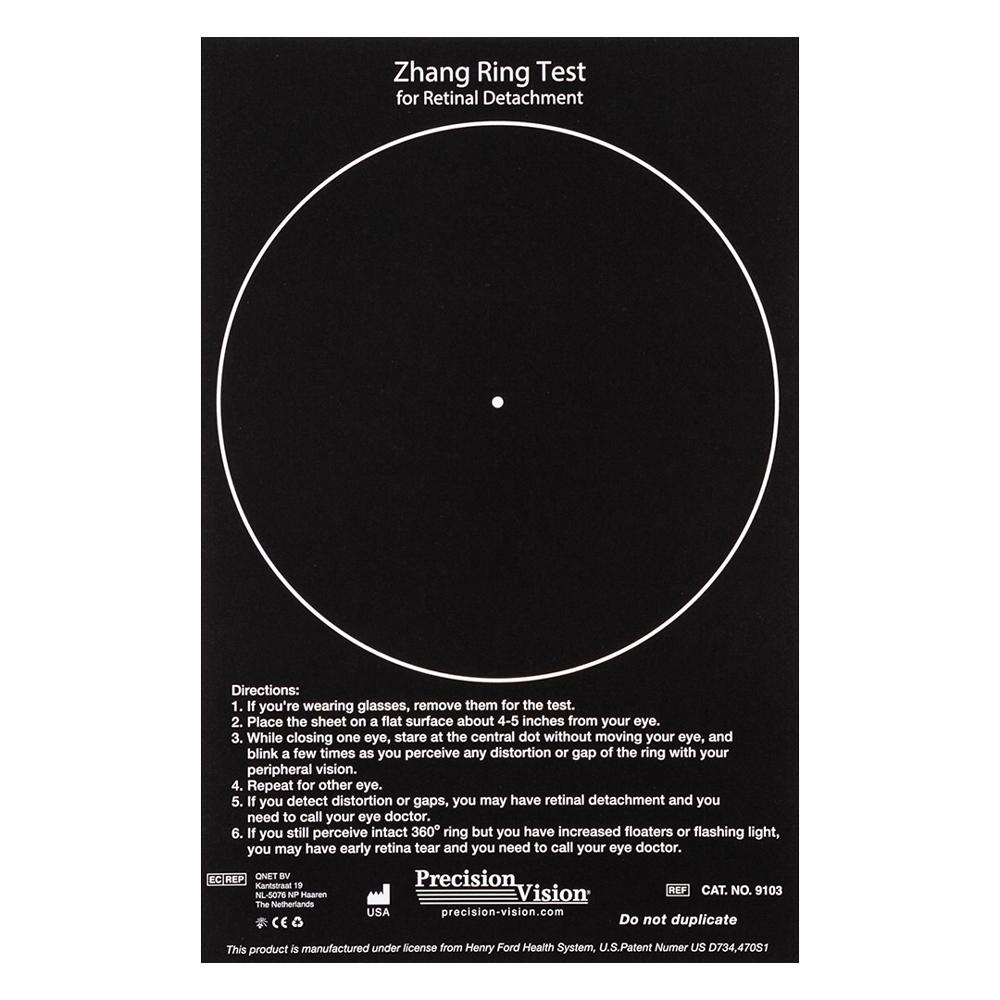 Zhang Ring Test