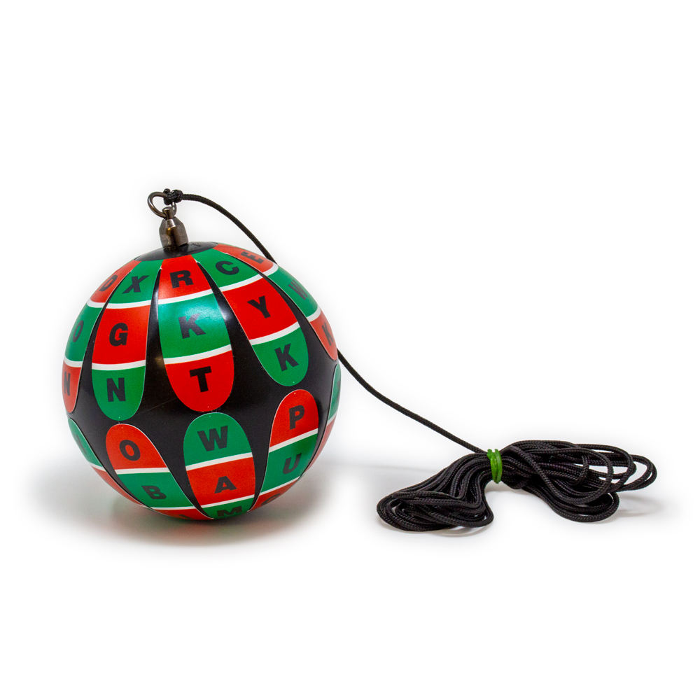Bernell Deluxe Red/Green Black Marsden Ball