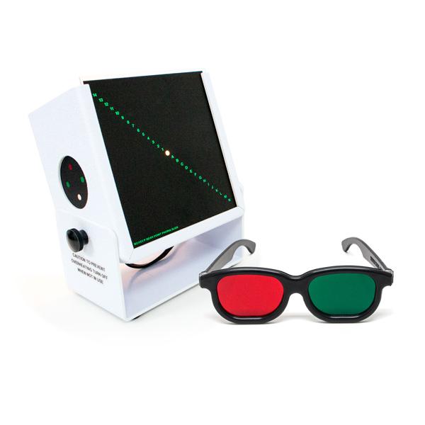 Test Lantern™ with Built-in Worth 4-Dot & Slides