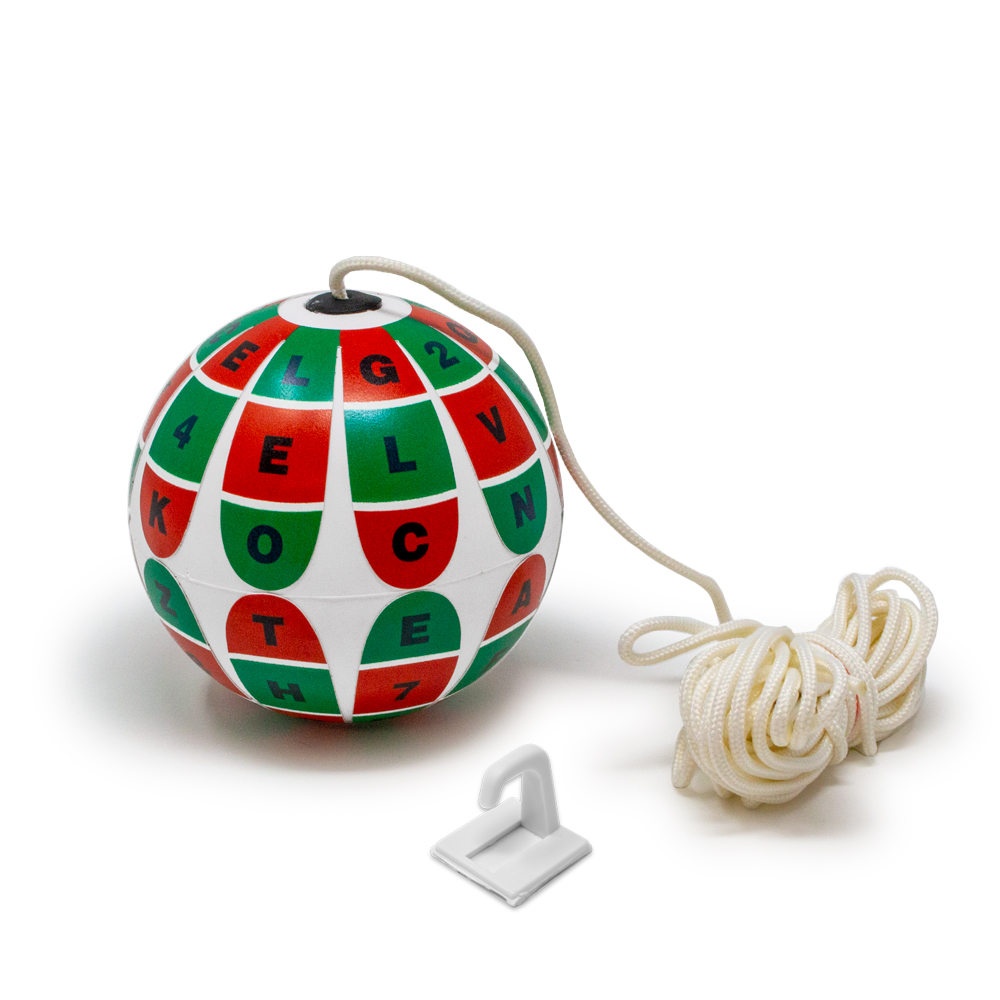 Soft White Red/Green Marsden Ball