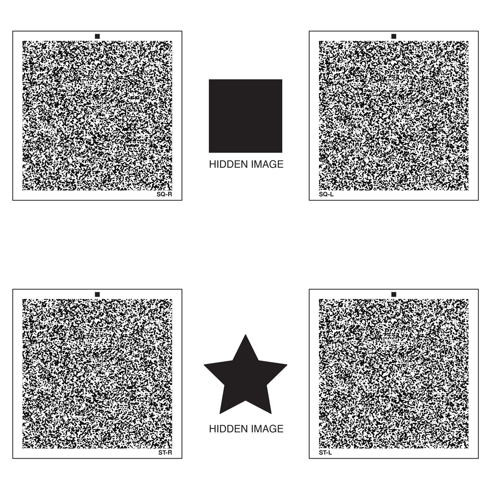 Random Dot Stereogram Card Set