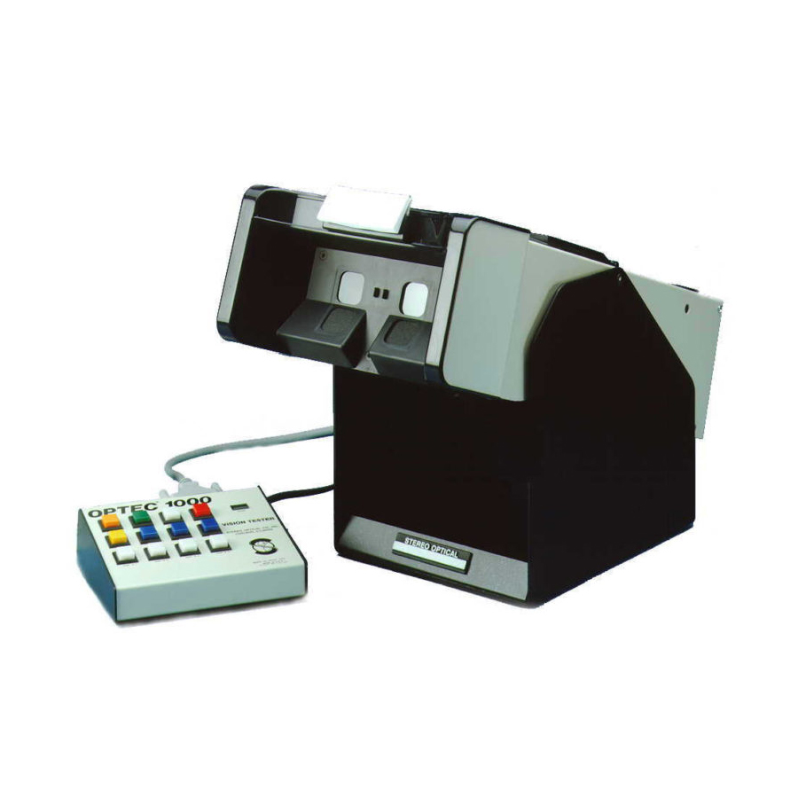 Optec 1000P Vision Screening System