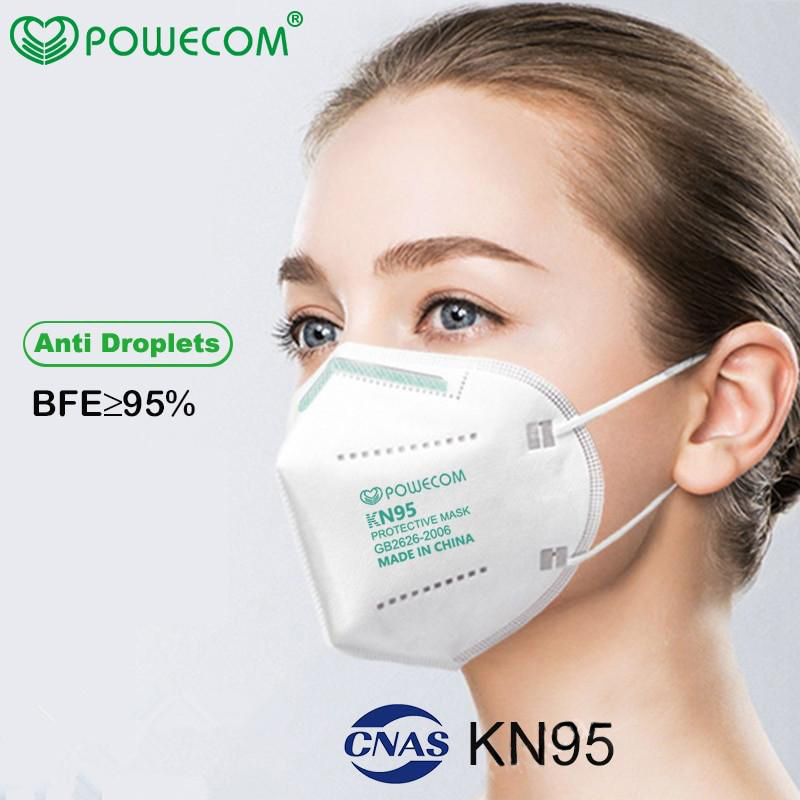 KN95 Protective Disposable Face Masks - Package of 10