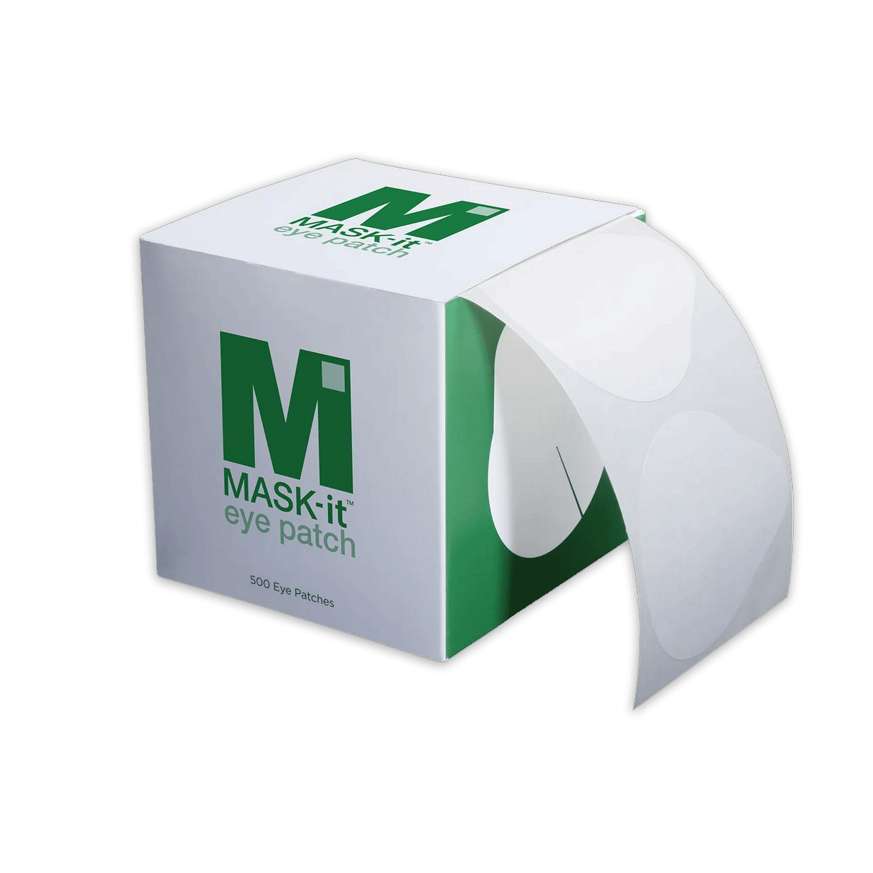 MASK-it™ Eye Patch: Disposable Eye Patches - Roll of 250 or 500 (As low as $0.30/patch)