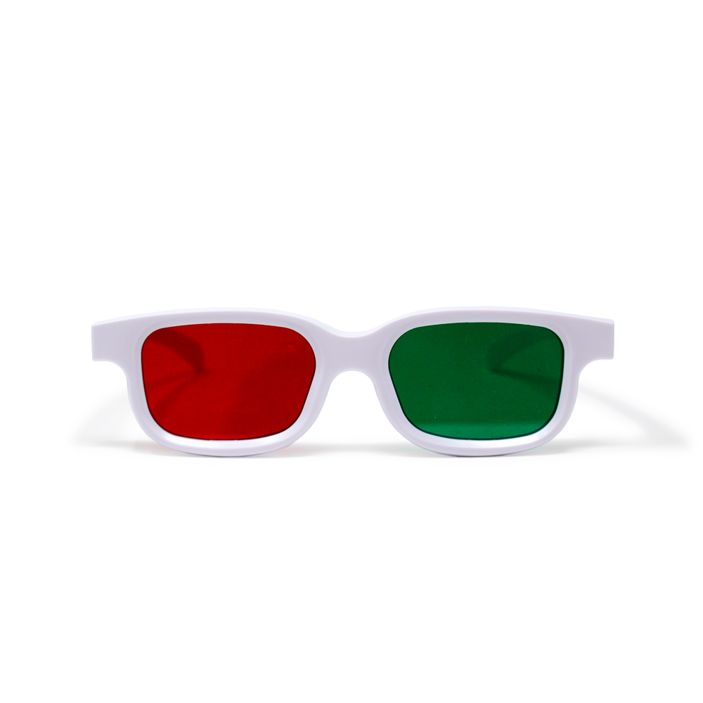 Bernell Blanco Goggle Red/Green - Single