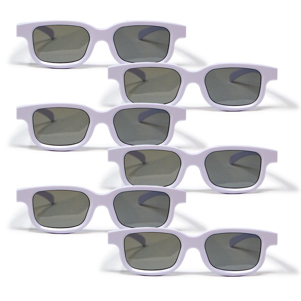 Bernell Blanco Goggle Polarized - 6pk