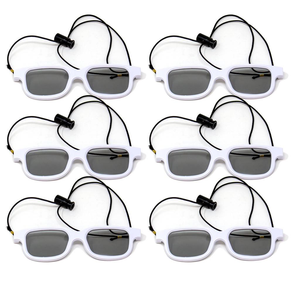 Bernell Blanco Goggle Polarized with Elastic - Pkg of 6