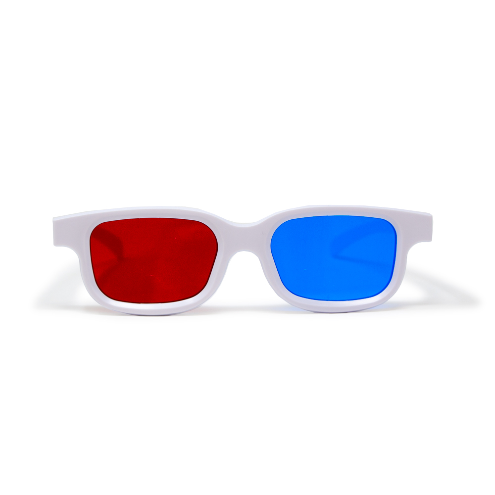 Bernell Blanco Goggle Red/Blue - Single