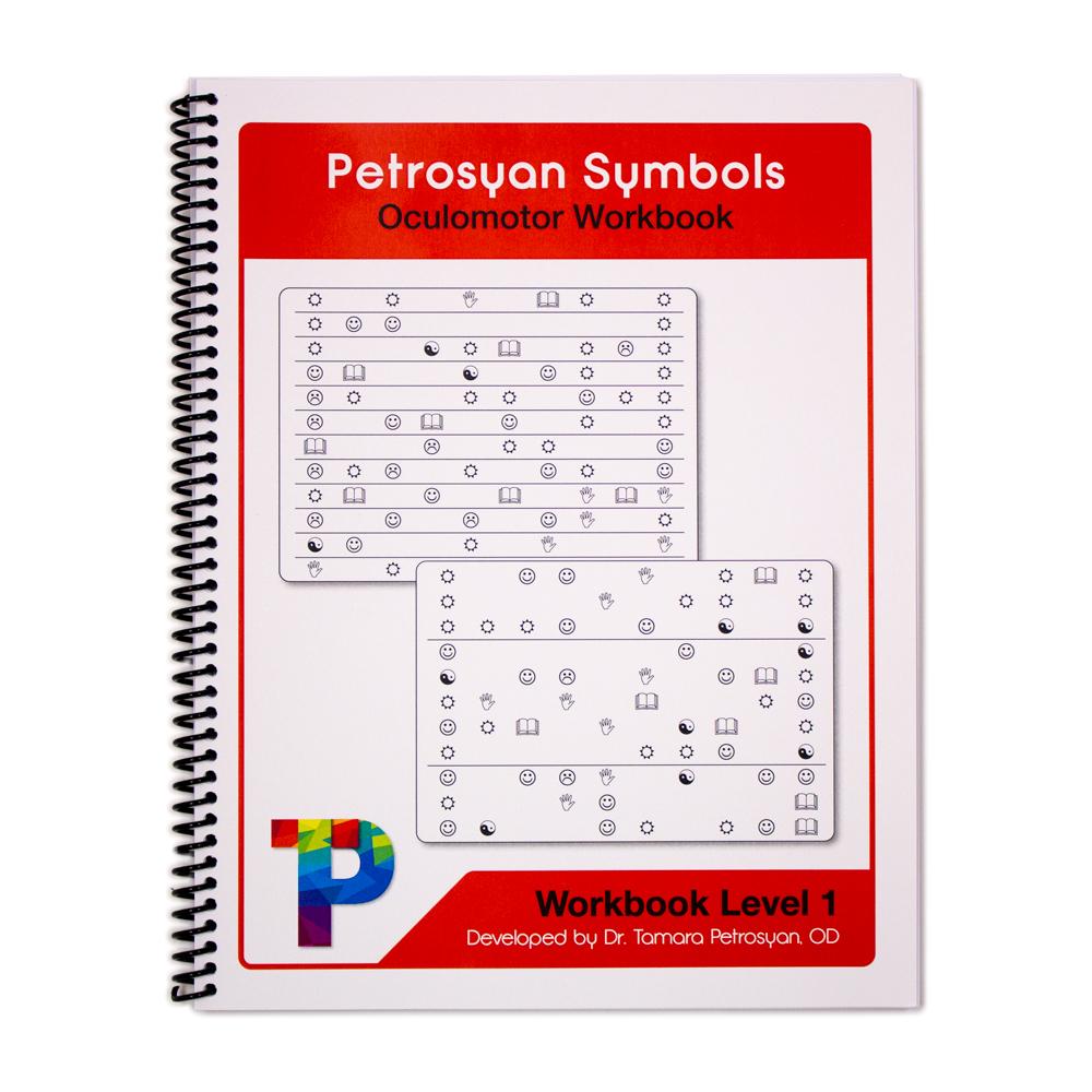Petrosyan Symbols Oculomotor Workbook - Level 1