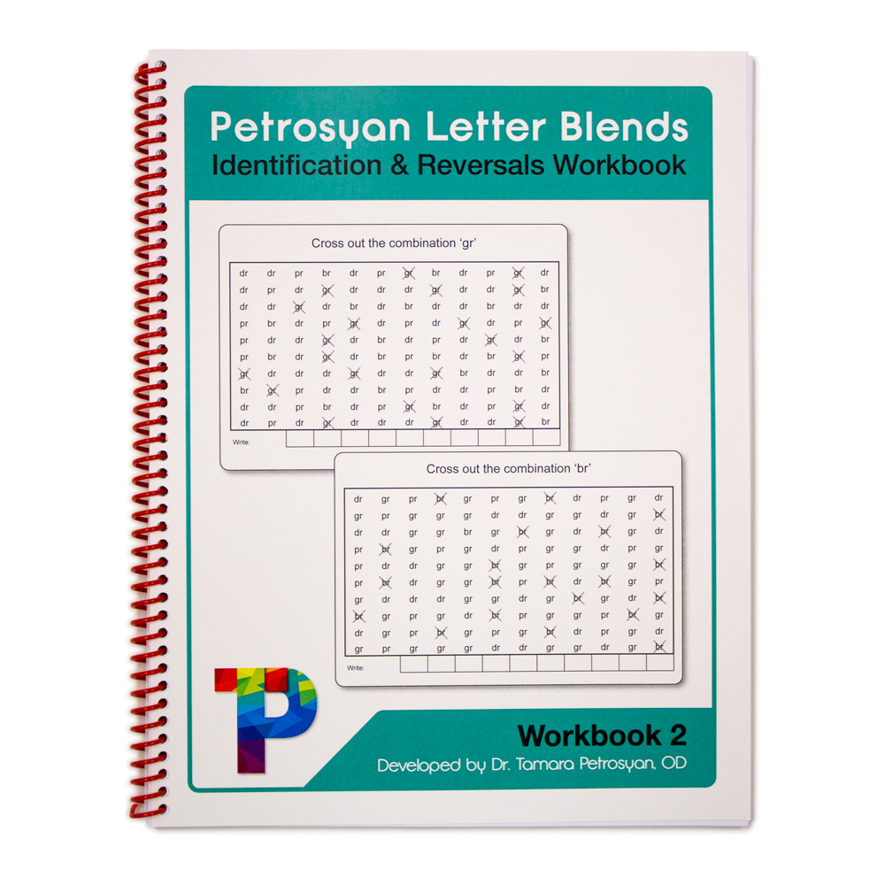 Petrosyan Letter Blends - Identification and Reversals Workbook