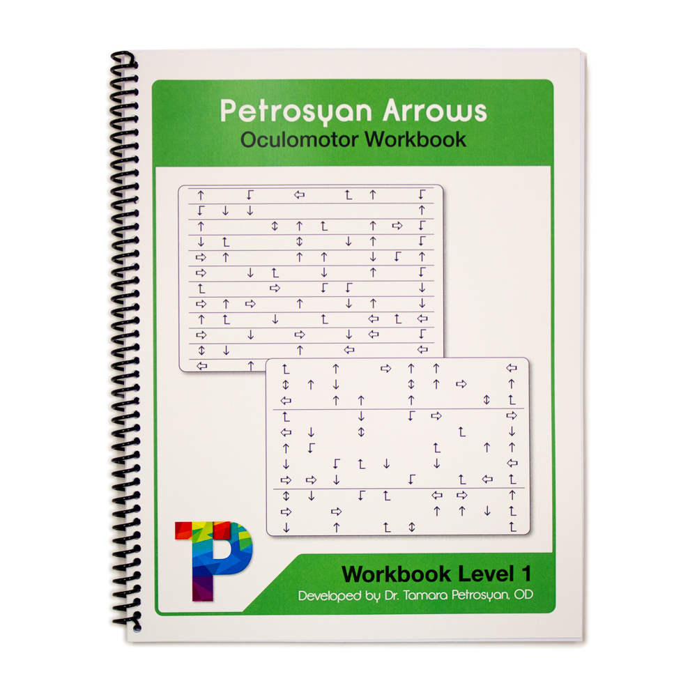 Petrosyan Arrows Oculomotor Workbook - Level 1