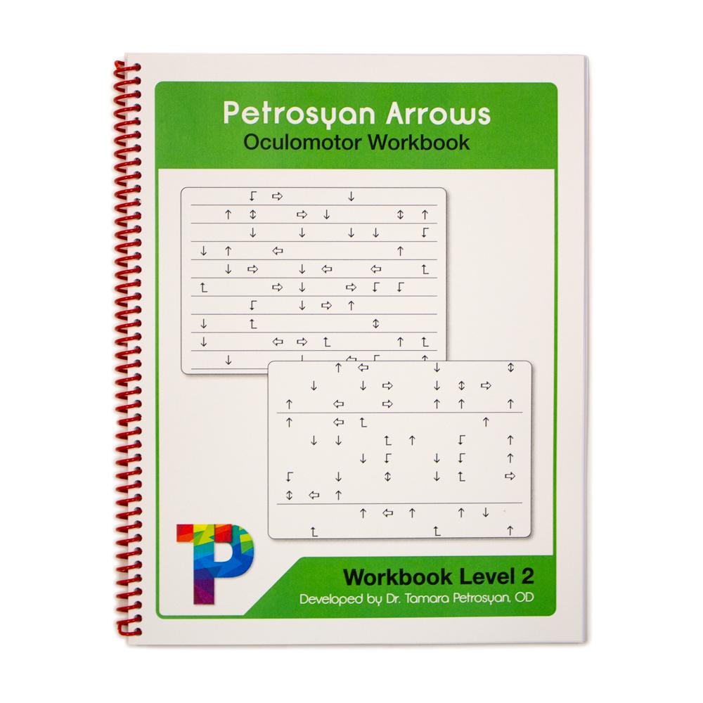 Petrosyan Arrows Oculomotor Workbook - Level 2