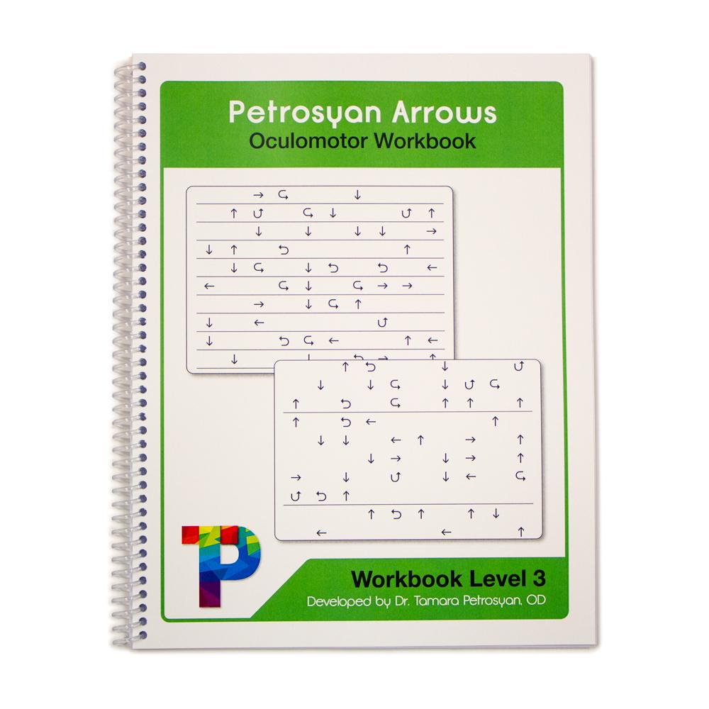 Petrosyan Arrows Oculomotor Workbook - Level 3