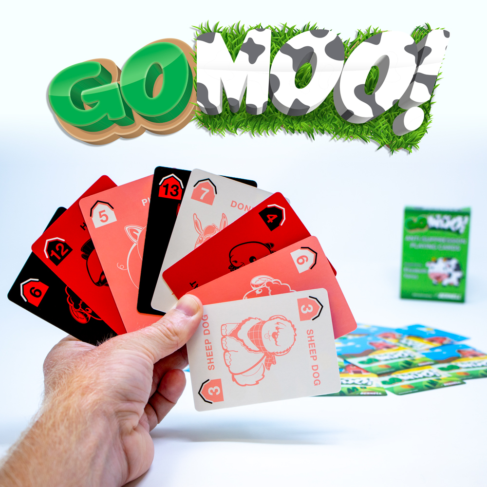 Go Moo! Anti-Suppression Playing Cards